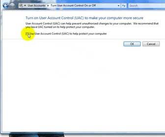 Windows Vista - Get Rid of UAC