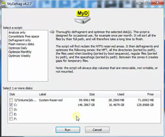 How-To Defragment your Computer's Hard Drive using MyDefrag