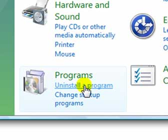 Learn How-To Uninstall Software Programs in Windows Vista
