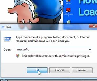 How-To Prevent Programs from Starting when Windows Starts, Using MSConfig
