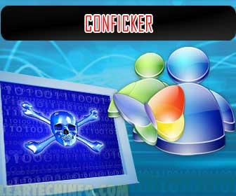 Conficker, Hotmail hijack