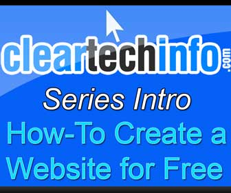 How-To Create a Website for Free (Series Intro)