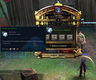 How-To Farm Masterwork Alkahest in Tera Online
