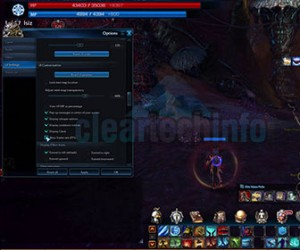 Tera – Show Ping, FPS & Clock