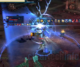 Tera Gunner PvP Fighting While Leveling