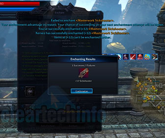 Masterworking / Enchanting +9 +12 Gear Sets - Tera Fate of Arun