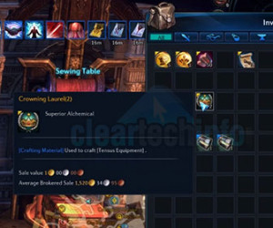 How-To Craft Tensus T7 Endgame PvP Gear in Tera Online