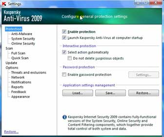 Learn How-To Configure Kaspersky Anti-Virus Settings and Options
