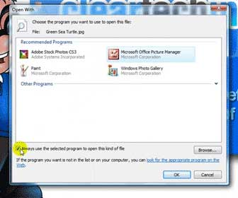 Learn How-To Change the Default Program Associations for Files in Vista