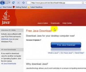 Learn How-To Find, Download and Install the Java Browser Plug-in