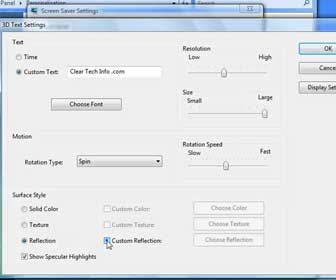 How-To Modify Screen Saver Settings and Advanced Power Options in Vista