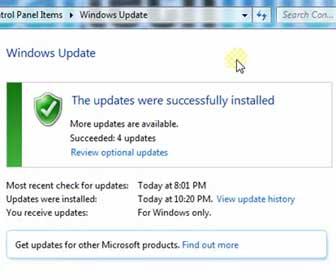 How-To Update Windows 7 using Microsoft Windows Update