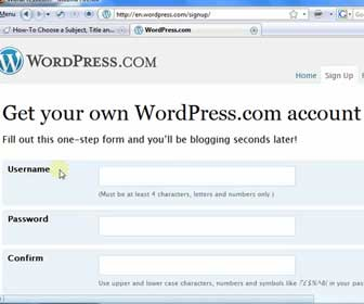 How-To Create a Free Website at WordPress.com + Beginner Basics